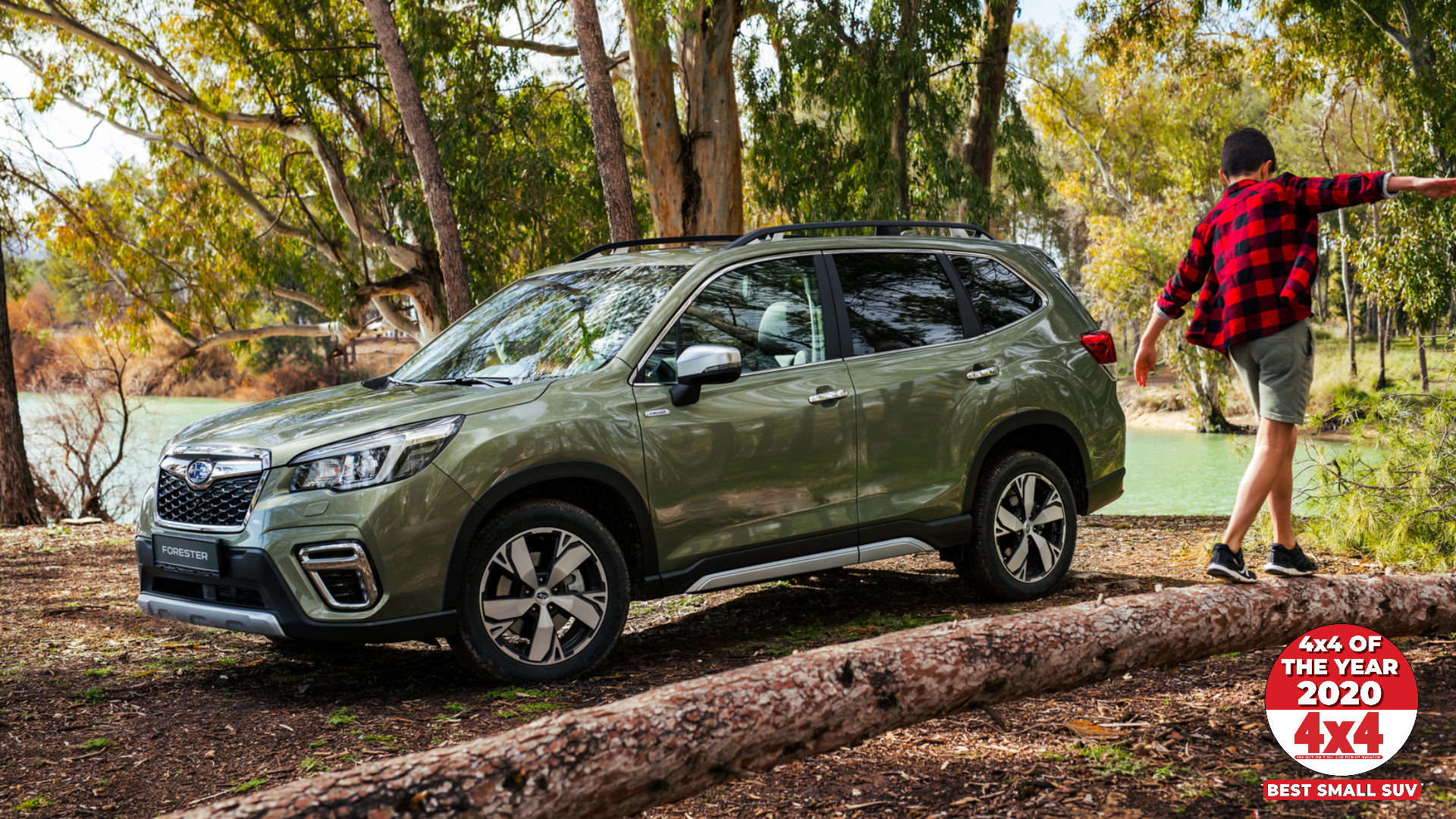All-New Forester e-BOXER. 4x4 Magazine's Best Small SUV of the Year.
